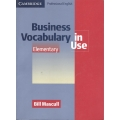 Business Vocabulary in Use: Elementary Book with answers